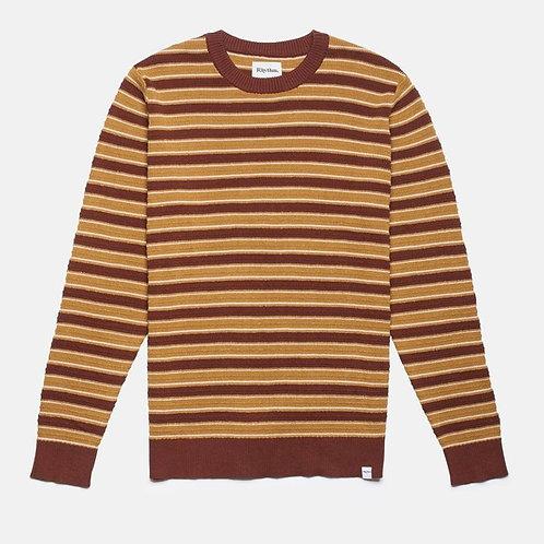 Rugby Stripe Knit Vintage tobacco