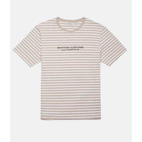 Studio Stripe T-Shirt Dust