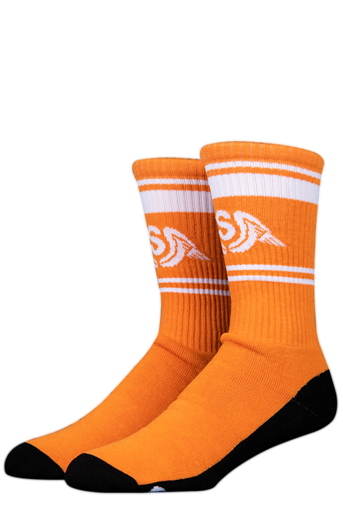 Stinky Socks Wings Tangerine