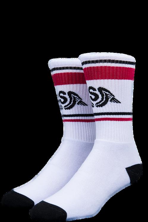 Stinky Socks Wings White