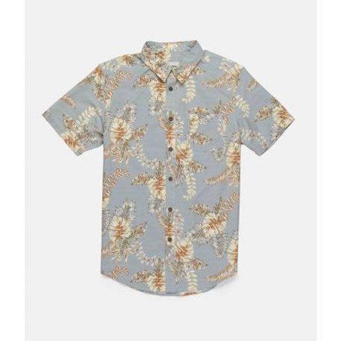 Bermuda SS Shirt faded blue