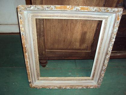badly damaged picture frame needs restoration
