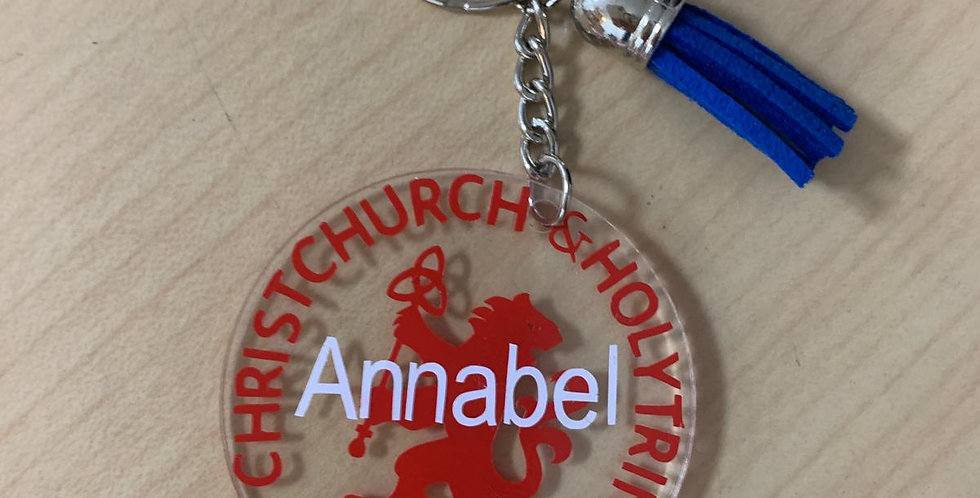 CCHT key ring in BLUE