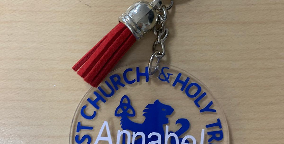 CCHT key ring in RED