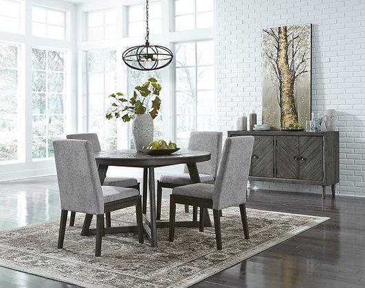 Besteneer Round Dining Table Set( 5 Pc)