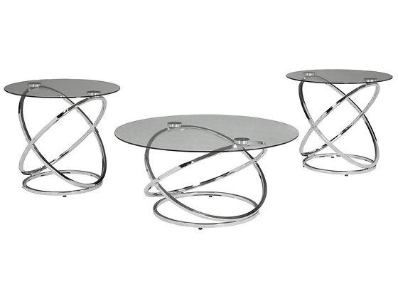 Hollynx 3Pc Coffee Table Set