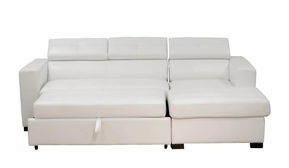 Soho Sleeper Sectional White
