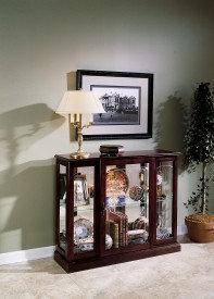 Ridgewood Mirrored Curio Console