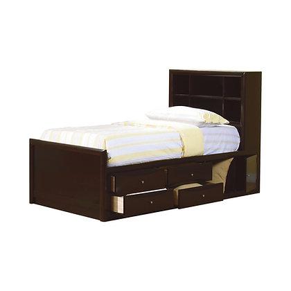 PHEONIX TWIN BED W/STORAGE