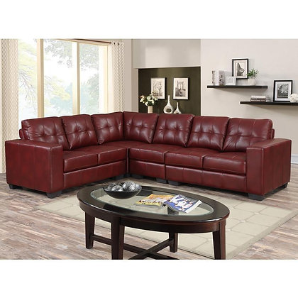 Metro Red Sectional