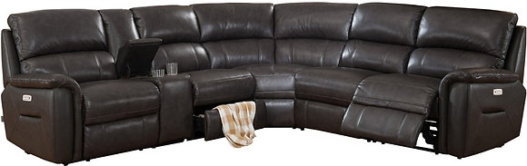 Camino 6-Piece Power Recliner Sectional