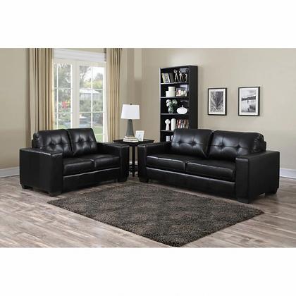 Metro Black Sofa