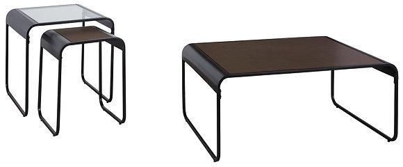 Larzeny 3Pc Coffee Table Set