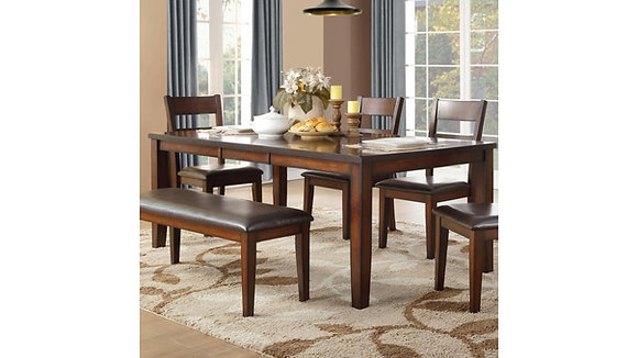Atlanta Dining Table Set (6 Pc)