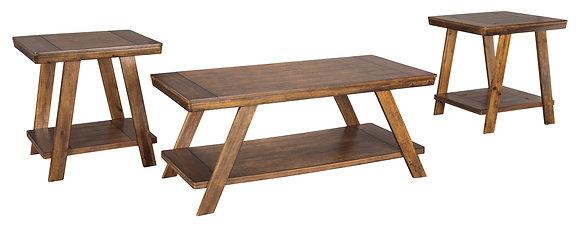 Bradely 3Pc Coffee Table Set