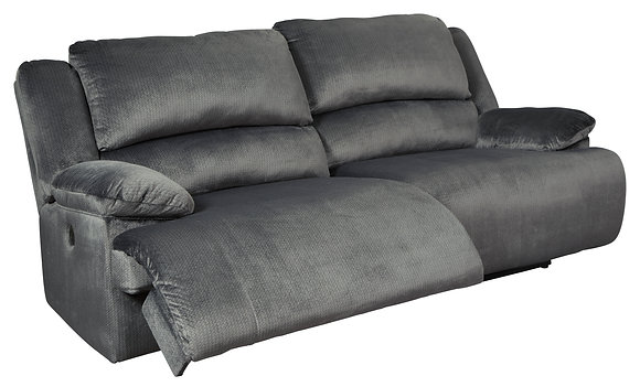 Clonmel Grey Reclining Sofa