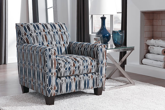 Creeal Heights Pattern Accent Chair