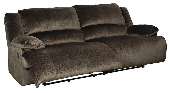 Clonmel Brown Reclining Sofa