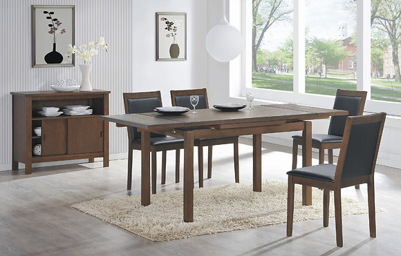 """Walsh 71"""" Extension Table Set (5 Pc)"""