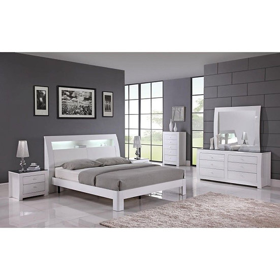Metro queen size 5 piece bedroom set (available in king&double size too)