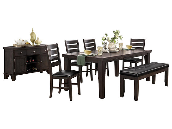 Ameillia Dining Table Set (6 Pc)