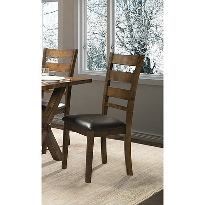 Live Edge Ladderback Dining Chairs