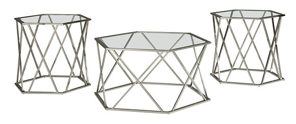 Madenere 3Pc Coffee Table Set
