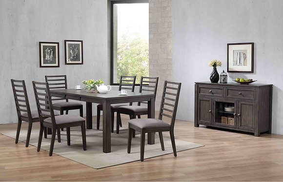 "Lancaster 72"" Rectangular Leg Table"