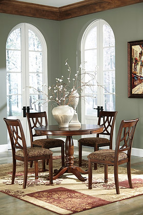 Leahyln Round Dining Table Set(5 Pc)