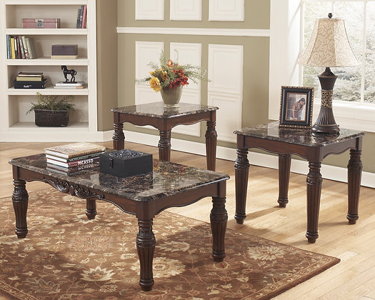 North Shore 3Pc Coffee Table Set
