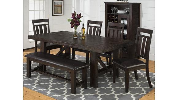Kona Grove Dining Table Set (6 Pc)