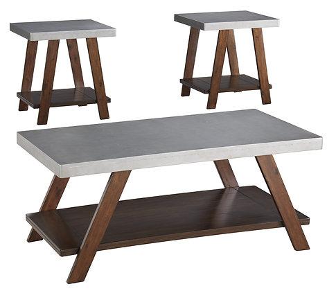 Bellenteen 3Pc Coffee Table Set