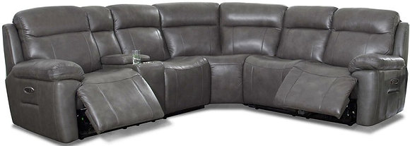 Camino Recliner Leather Match Sectional
