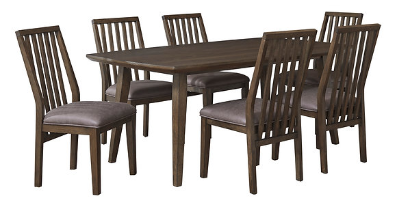 KISPER DINING TABLE SET (7PC)