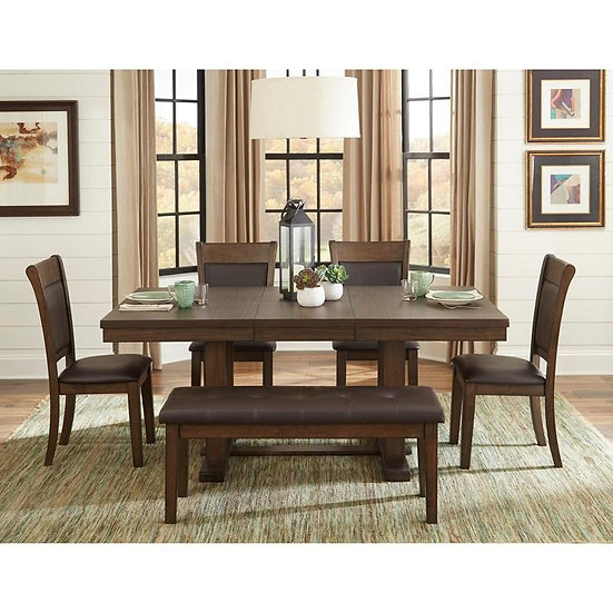 ASH RUSTIC DINING TABLE