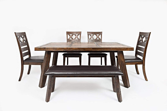 Painted Canyon Dining Table Set (6 Pc)