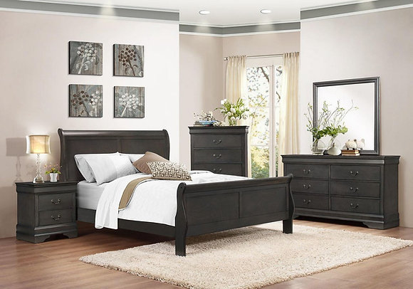AURORA FULL SLEIGH BED