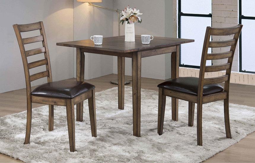 "Newport 46"" Leg Table w/ 2 x 8"" Drop Leaves"