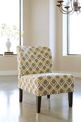 Honnally Gunmetal Accent Chair