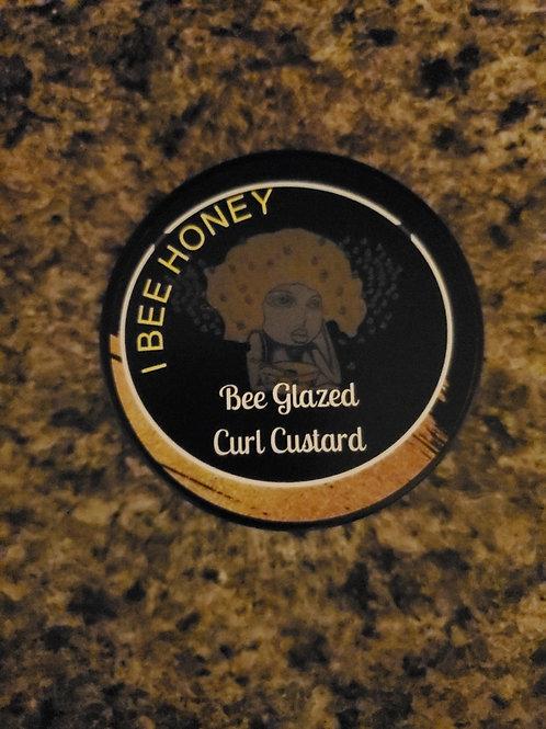 Bee Glazed Curl Custard