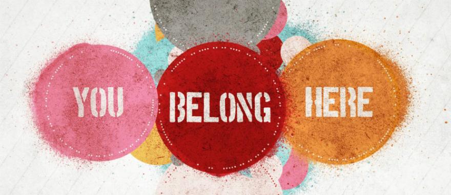 you belong here