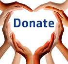 Diverse Heart Hands around earth- DONATE