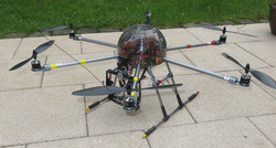 Hexacopter Fotocopter