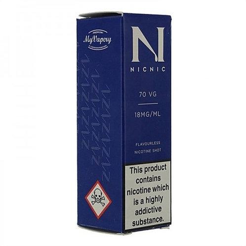 NicNic Nicotine Shot 70vg 10ml