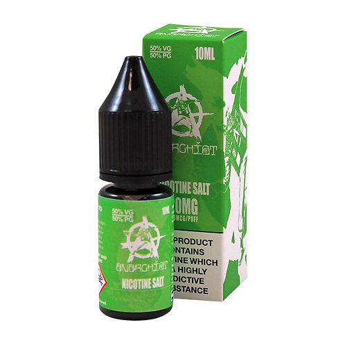 Anarchist Green Nic Salt 10ml
