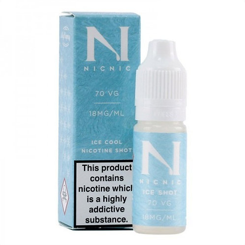 NicNic Nicotine Ice Shot 70vg 10ml