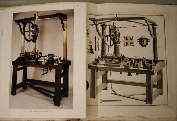 sw18  French spinning wheel, note how ac