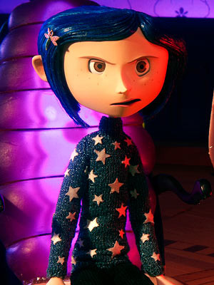 Coraline in her Star Sweater