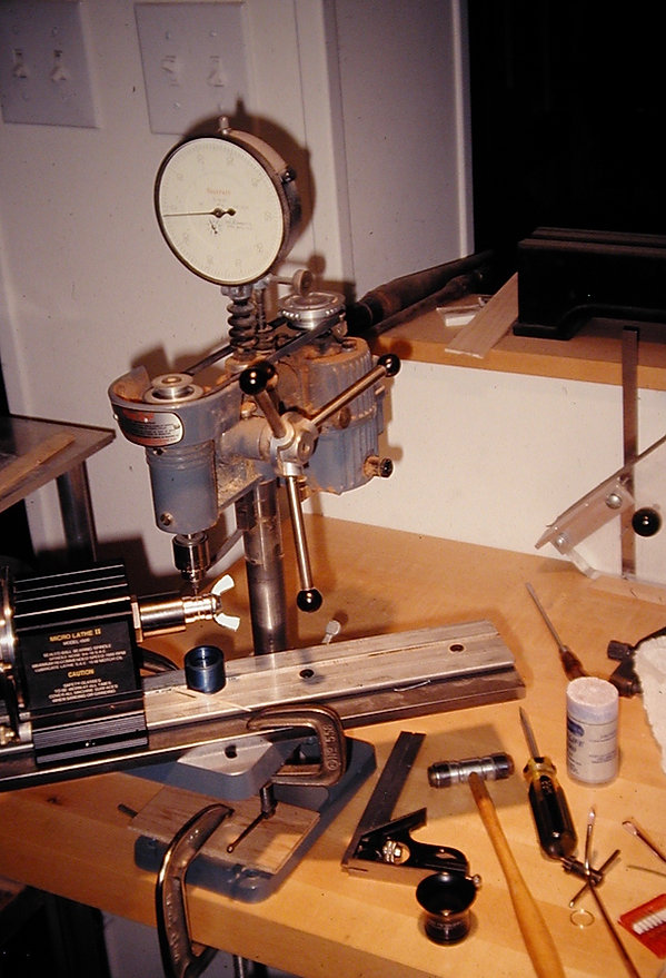 sw24  French spinning wheel, drilling fo