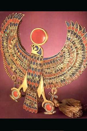 King Tut Falcon Amulet